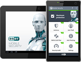 آنتی ویروس اورجینال ESET Mobile Security For Android ESET Mobile Security Home Edition ESET Mobile Security Home Edition emsandtablets