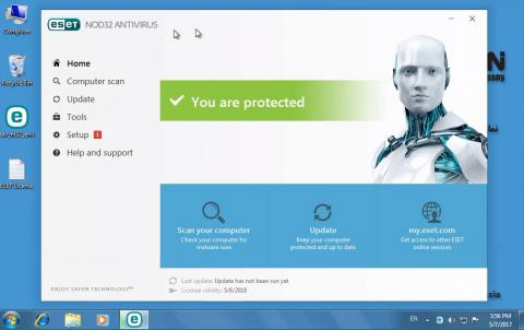 آموزش نصب ESET NOD32 Antivirus 10
